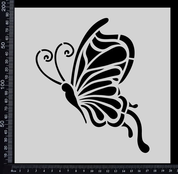 Fantasy Butterfly - Stencil - 200mm x 200mm