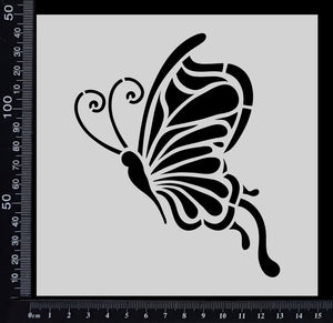 Fantasy Butterfly - Stencil - 150mm x 150mm