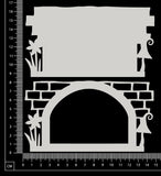 Fantasy Portal - BD - Small - Layering Set - White Chipboard