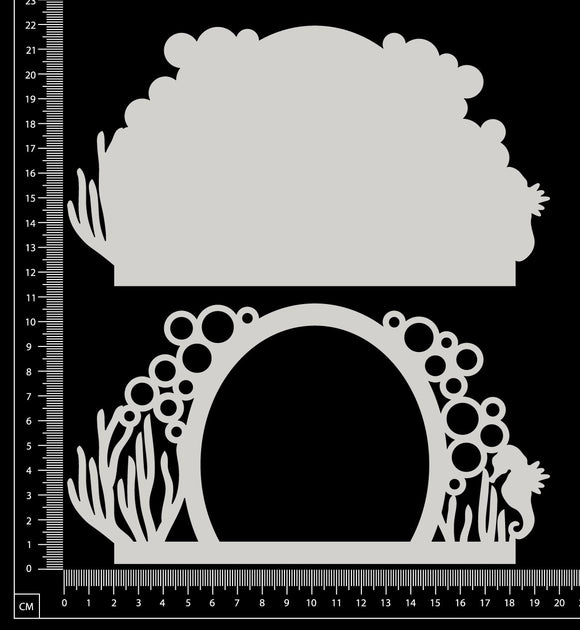 Fantasy Portal - FC - Large - Layering Set - White Chipboard