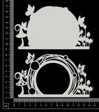 Fantasy Portal - GD - Small - Layering Set - White Chipboard