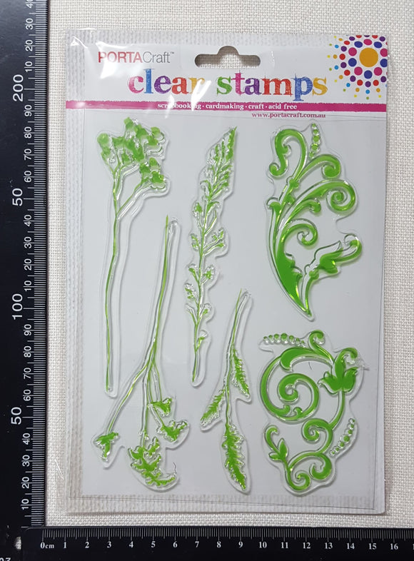 Foliage & Flourish Stamp Set