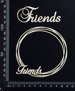 Friends Frame Set - Small - White Chipboard