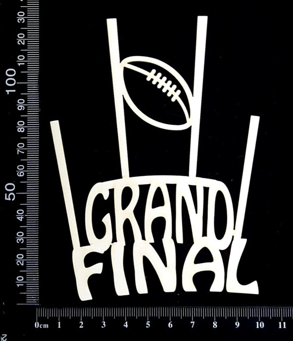 Grand Final - A - White Chipboard