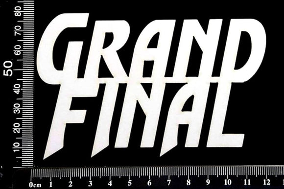Grand Final - B - White Chipboard