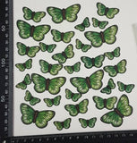 Butterfly Stickers - Green