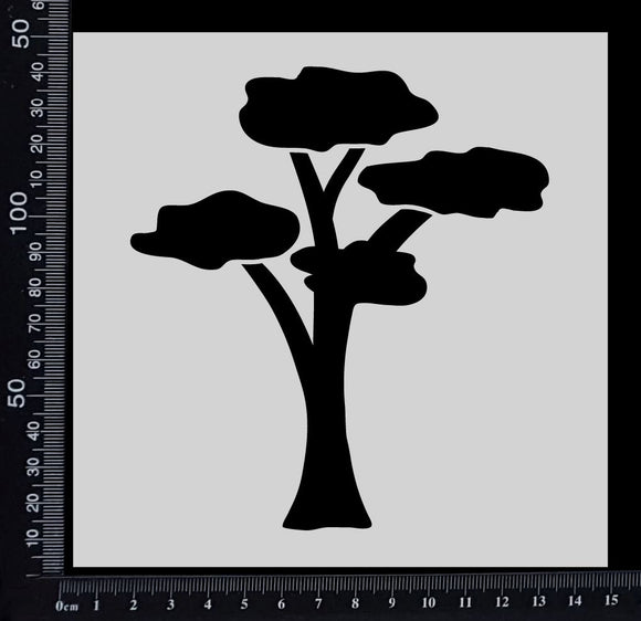 Gum Tree - Stencil - 150mm x 150mm