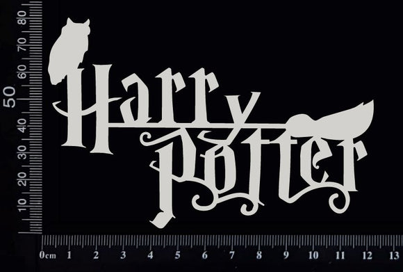 Harry Potter - White Chipboard