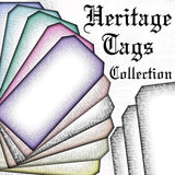 Heritage Tags Collection - DI-10038 - Digital Download