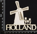 Holland - A - White Chipboard