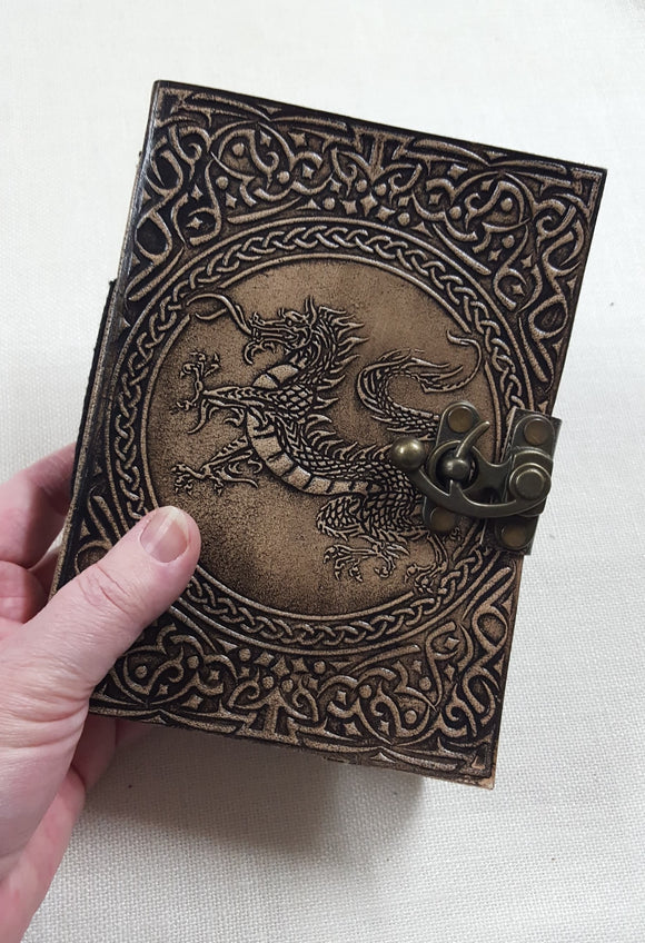 Leather Bound Dragon Journal