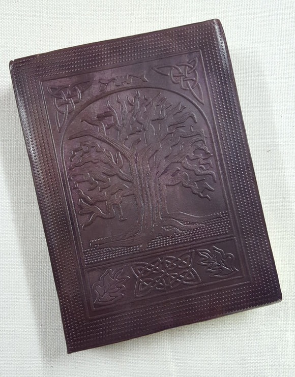 Leather Bound Tree of Life Journal
