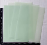 Parchment/Vellum Paper - A4 pack of 25 sheets - Light Green