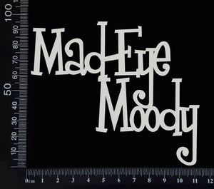 Mad-Eye Moody - B - White Chipboard