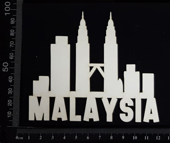Malaysia - A - White Chipboard