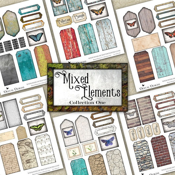 Mixed Elements Collection One - DI-10042 - Digital Download