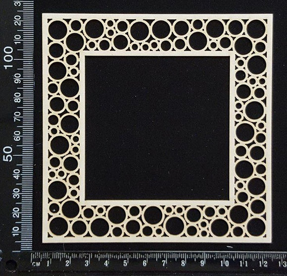 Mosaic Frame - Square - White Chipboard