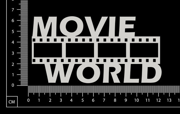Movie World - White Chipboard