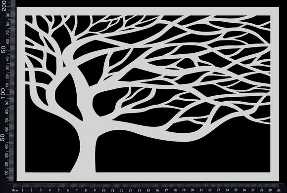 Mystical Tree - Stencil - 200mm x 300mm