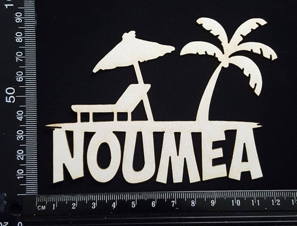 Noumea - White Chipboard