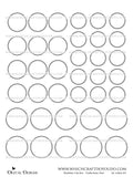 Number Circles - Collection One - DI-10063 - Digital Download