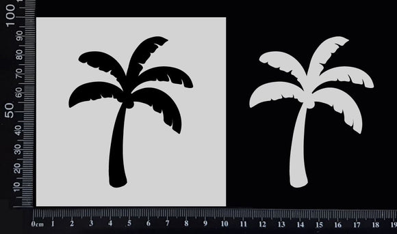 Palm Tree - Stencil - 100mm x 100mm