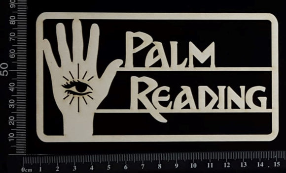 Palm Reading - White Chipboard