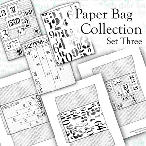 Paper Bag Collection - Set Three - DI-10112 - Digital Download