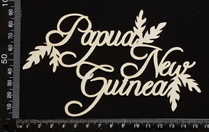 Papua New Guinea - White Chipboard