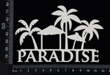 Paradise - A - White Chipboard