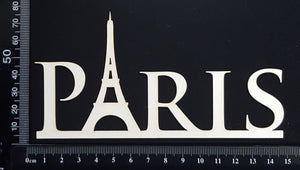 Paris - A - White Chipboard