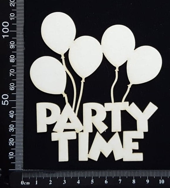 Party Time - White Chipboard