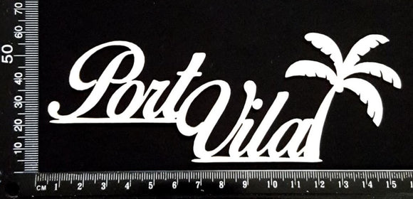 Port Vila - A - White Chipboard