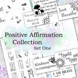 FREEBIE - Positive Affirmation Collection - Set One - DI-10048 - Digital Download