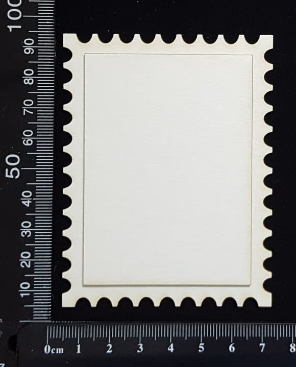 Postage Stamp Set - G - Layering Set - White Chipboard