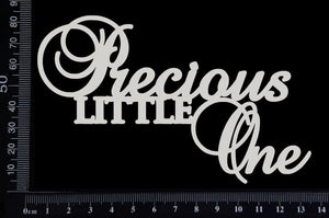 Precious Little One - White Chipboard