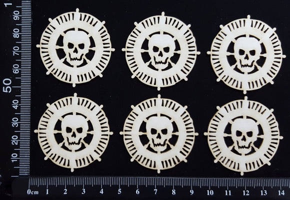 Pirate Gold - C - White Chipboard