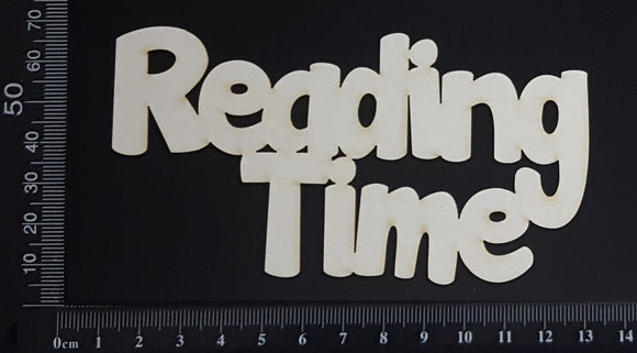 Reading Time - White Chipboard