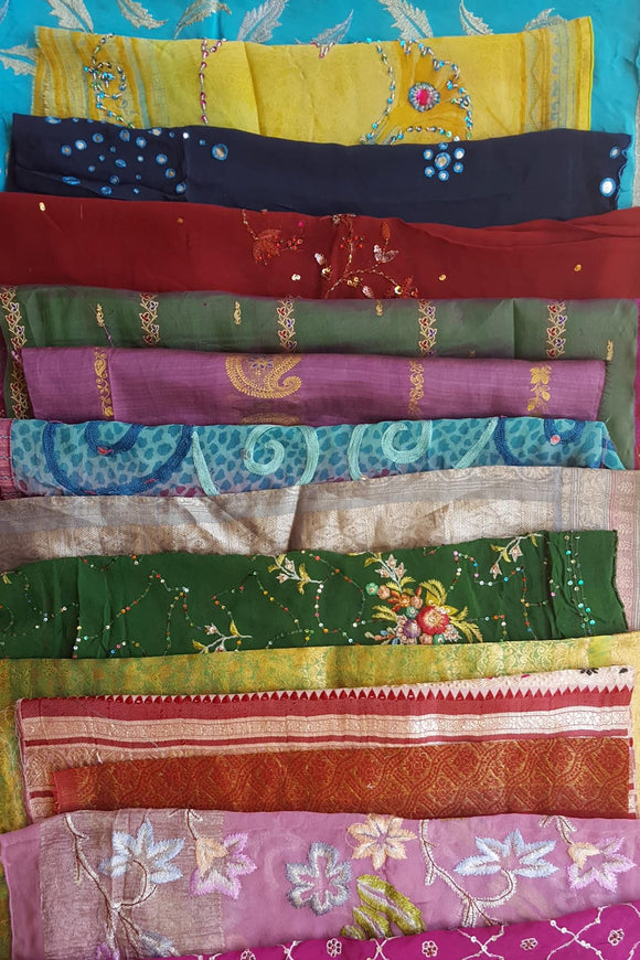 Sari Fabric Pack - Large