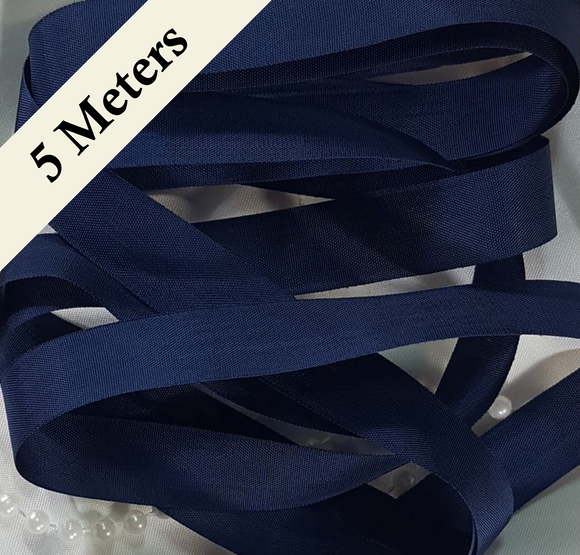 Seam Binding - XC - Brigade Navy - 5 meters