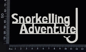 Snorkelling Adventure - White Chipboard