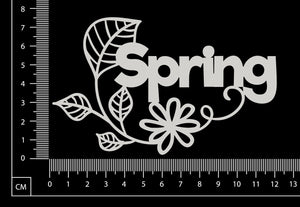 Spring - White Chipboard