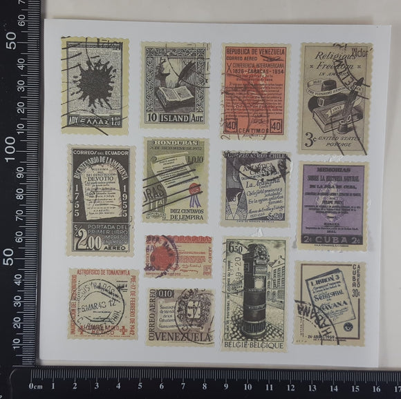 Stamp Stickers - (SS-1010)