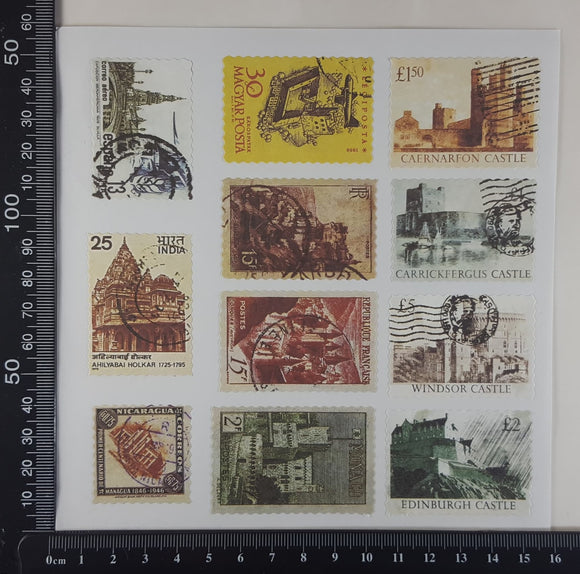 Stamp Stickers - (SS-1013)
