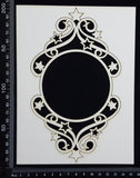 Star Frame - E - Large - White Chipboard