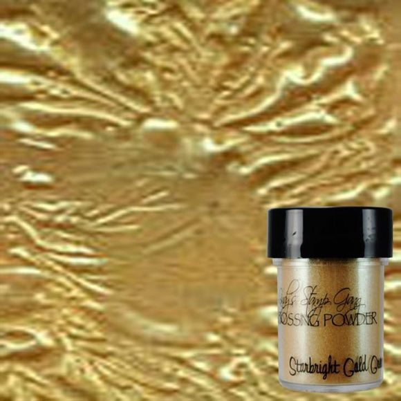 Starbright Gold Green Embossing Powder