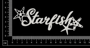 Starfish - White Chipboard