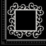 Stephanie Frame - Square - Large - White Chipboard