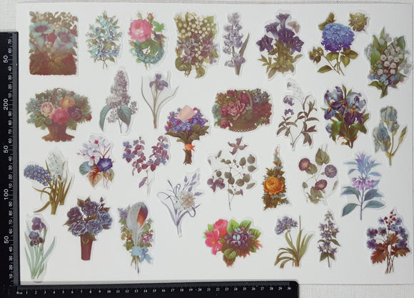 Stickers - Flowers - (SP-4318)