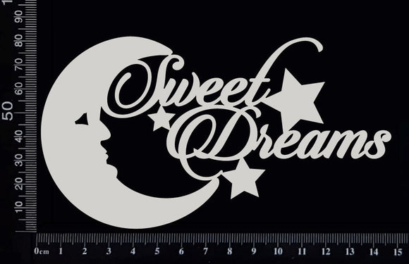 Sweet Dreams - White Chipboard